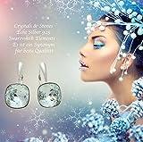 Immagine 2 crystals stones meravigliosi orecchini quadrati