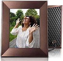 NIXPLAY Iris Digitaler Bilderrahmen WLAN 8 Zoll W08E Bronze. Fotos & Videos per App oder Email an den Elektronischen...