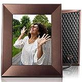 NIXPLAY Iris Digitaler Bilderrahmen WLAN 8 Zoll W08E Bronze. Fotos