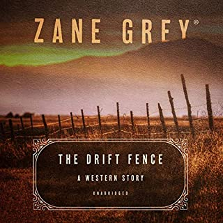 The Drift Fence audiobook cover art