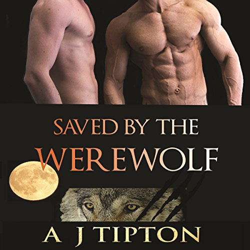 Saved by the Werewolf audiobook cover art