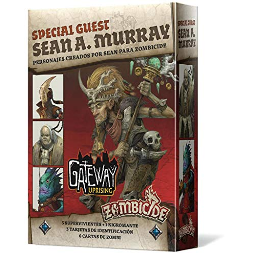Edge Entertainment – Zombicide Black Plague – Green Horde Special Guest: Sean A. Murray, Farbe (EECMZB44)