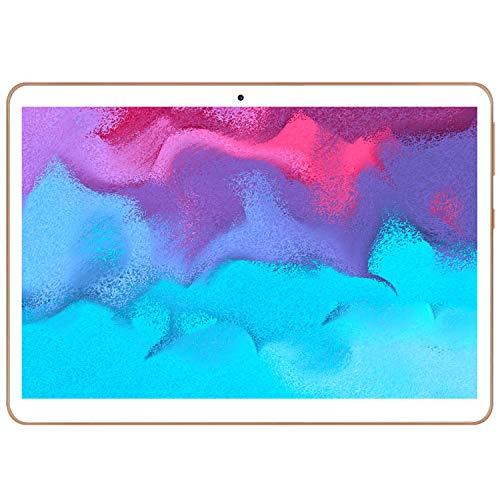 Tablet 10.1 Pollici Android 10 4G LTE WIFI YOTOPT- T,4GB RAM 64GB ROM,Doppia SIM,Quad-core,GPS,Bluetooth,OTG-Oro