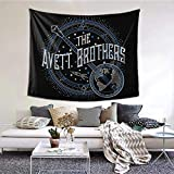 The Avett Brothers Tapestry Hanging Decoration Bedroom Living Room Dormitory Background Wall Home Stylish Blanket 60 X 51 Inch