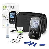 Glucómetro adia (mg/dl) incl. 10 tiras reactivas para...