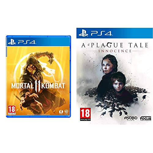 Mortal Kombat 11 (PS4) - Import UK & A Plague Tale : Innocence