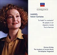 Handel: Italian Cantatas by KIRKBY / PIGUET / ACADEMY OF ANCIENT MUSIC / HOGWOOD (2005-07-11)