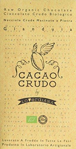 Cacao Crudo Cioccolato Gianduia Cacao 50% Crudo - 50 g