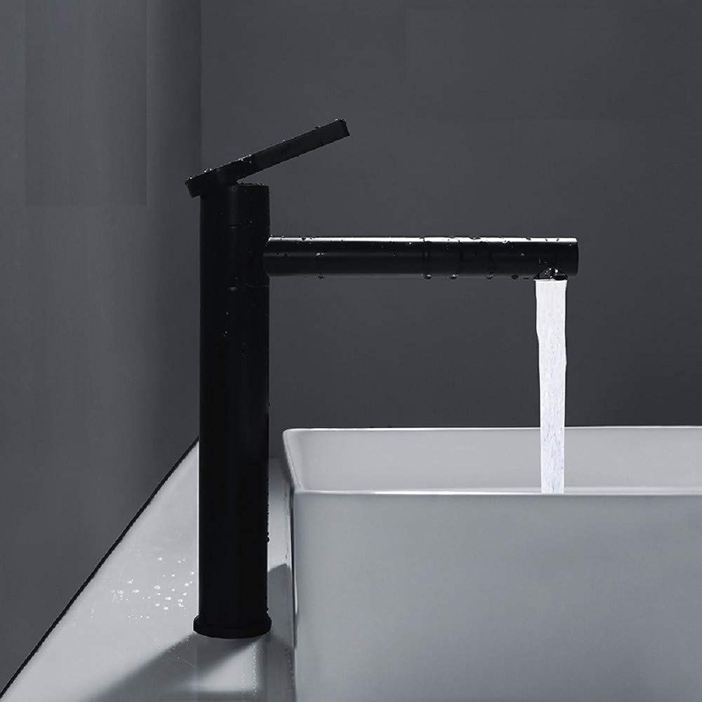 Bathroom Taps Washbasin Baking Varnish redating Black Basin Toilet Cold and Hot Water redating to Increase Faucet Bathroom Sink Tap Basin Sink Mixer Tap