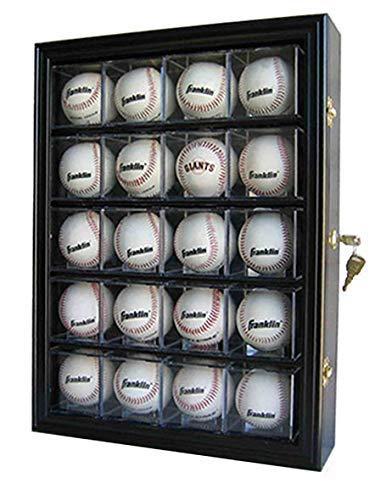 baseball wall mount display case - 5