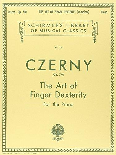 Carl Czerny The Art Of Finger Dexterity Op.740 (Complete)
