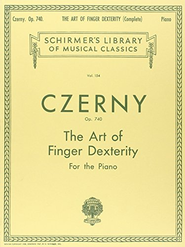Carl Czerny The Art Of Finger Dexterity Op.740 (Complete)