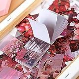 JIANWU 50 Hojas Estilo Ins Estilo Libro de Pegatinas Washi Diario de Papel Material de Bricolaje decoración Pegatina Bloc de Notas Scrapbook papelería