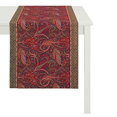APELT Tischdecke, Baumwolle, rot, 85 x 85 x 0.2 cm
