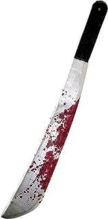 Rubie's Official Adult's Jason Machete Fancy Dress - Black/Silver/Red