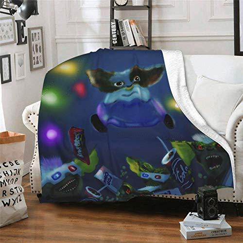 185 Adults Flannel Blankets,Gremlins Throw Blankets, Strapazierfähige Sofadecke Für Bed Room Chair,102x127cm