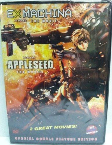Ex Machina (2008) The Movie & Appleseed (2004) The Movie [2 MOVIES]