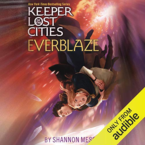 Everblaze audiobook cover art