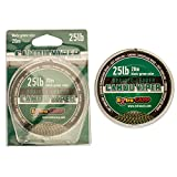 Karpfenvorfach sinkend 20 m 25 lb Vorfachschnur Karpfen Vorfach Schnur Karpfenschnur Carp Leader (schwarz-grün)
