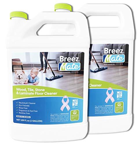 BreezMate Wood, Tile, Stone & Laminated Floor Cleaner 128 Fl oz (2 pack)