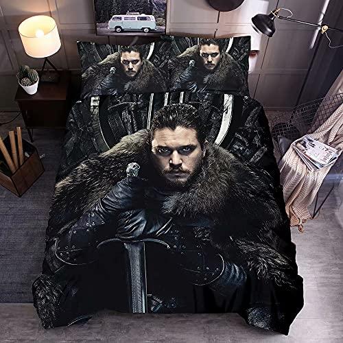 3 juegos de ropa de cama Spider-Man Iron Man Avengers funda nórdica estampada funda de almohada colcha poliéster