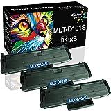 3-Pack ColorPrint Compatible MLT-D101S Toner Cartridge Replacement for Samsung MLTD101S D101S 101S SCX-3400 SCX-3400F 3400FW SCX-3405F SCX-3405FW SCX-3405W ML-2160 ML-2165 ML-2165W ML-2166w Printer