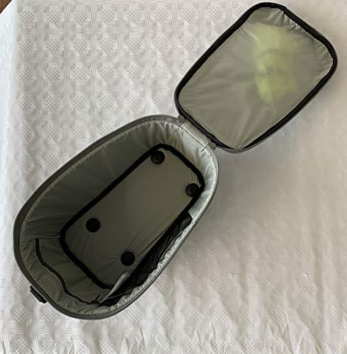 Racktime Unisex– Erwachsene Talis Gepäckträgertasche, schwarz, 1size