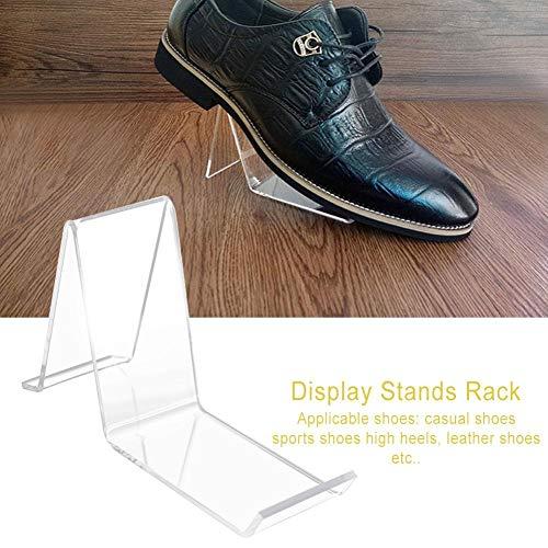 Acryl Schuh Displayständer Transparente Schuhhalterung Sneakers High Heels Store Home Displayständer Sandale Displayständer