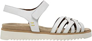 BENVADO Sandalo Donna Ellen Bianco in Pelle - Ellen 36010001 - Taglia
