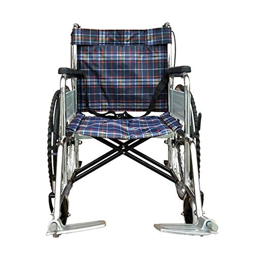 WZB - Wheelchair Leichter Faltender Rollstuhl, Der Medizinisch Fährt, Rollstuhl-Überzug-Weicher Rollstuhl, Älterer Rollstuhl, Untauglicher Portable