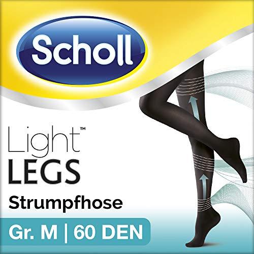 Scholl Light Legs Strumpfhose für ein leichtes Beingefühl, (M,black/noir - 60 DEN) 1 Stück