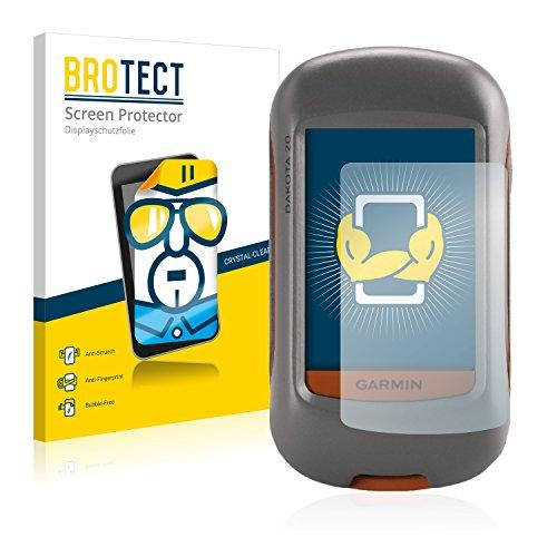 BROTECT Protector Pantalla Compatible con Garmin Dakota 20 Protector Transparente (2 Unidades) Anti-Huellas