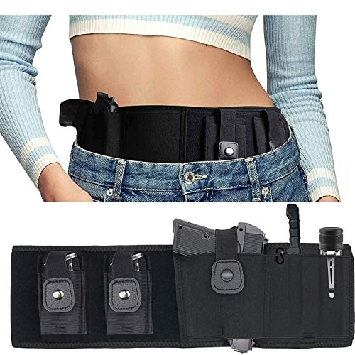 Ultimate Belly Band Holster for Concealed Carry, 44'...