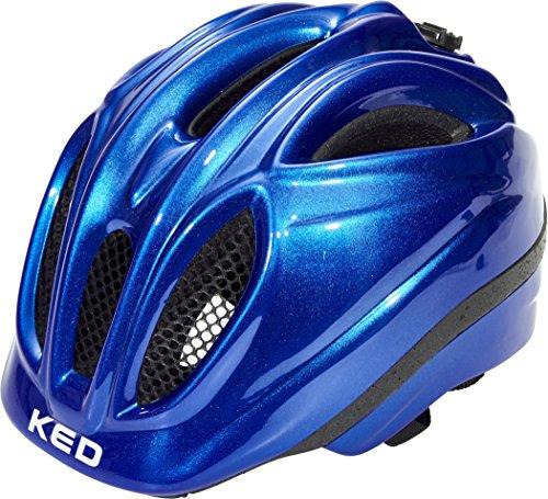 KED Meggy II Helmet Kids Blue hoofdomtrek XS | 44-49cm 2018 Fietshelm