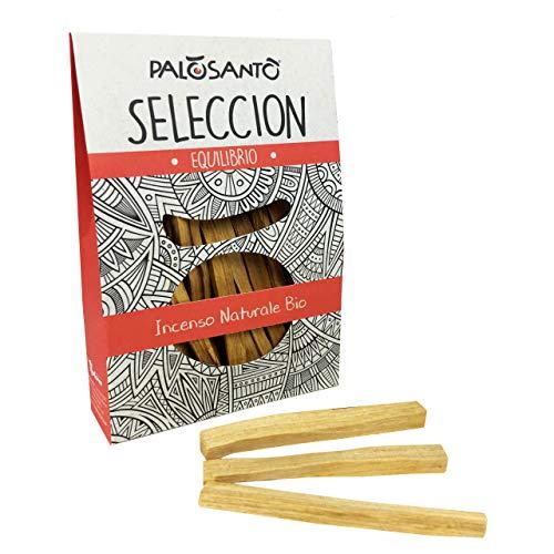 Incienso Natural Palo Santo - Variedad Selecciòn - 15 Palitos - Buen Humor, energía Positiva, purificación, perfumar el hogar - Sanacion Chamanica