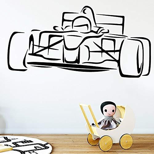 WERWN gameline F1 Roadster Racing Car de lujo coche deportivo lindo coche deportivo coche vinilo pegatinas pared calcomanías decoración del hogar decoración salón dormitorio vinilo arte