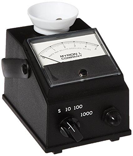 Myron L 532T1 DS Conductivity Meter, 0-50, 500, 5000 ppm