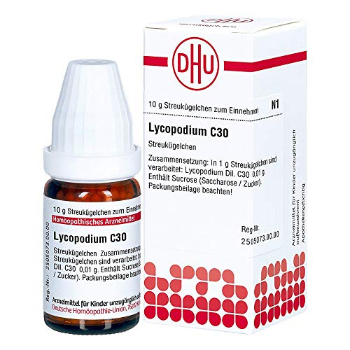 DHU Lycopodium C30 Globuli, 10 g Globuli