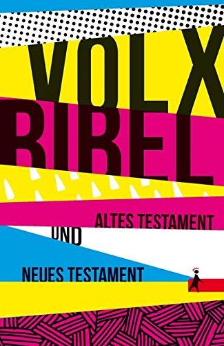 Die Volxbibel - Altes und Neues Testament, Taschenausgabe: Motiv Streifen-Design