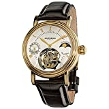 Akribos Mechanical Tourbillon Watch -...