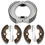 Caltric Front & Rear Brake Shoes Compatible with Honda Trx300Fw Fourtrax 300 4X4 1988 1990-2000 (Only 4X4)