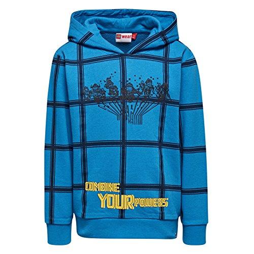 Lego Wear Jungen Lego Boy Nexo Knights Sebastian 105-Sweatshirt Sweatshirt, Blau (Blue 538), 116