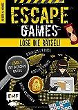 Escape Games Level 1 (gelb) – Löse die Rätsel! – 8 Escape Games ab der 4. Klasse: Mit verschlüsselten Codes, versteckten Hinweisen und geheimen Nachrichten