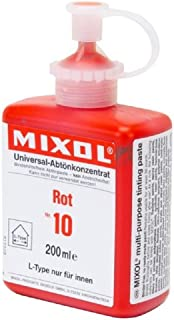 Mixol Universal Tints, Red Paint Colorant #10, 200ml