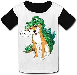 XiuHongShangMAo Unisex Youth 3D Pickle Rick 3D Printing T Shirts Short Sleeve Kids Tee