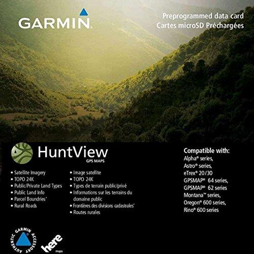 Garmin Huntview Map Card - West Texas