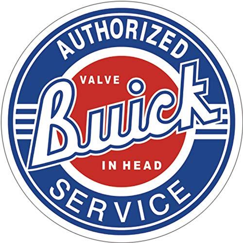 "Desperate Enterprises Buick Service Tin Sign, 11.75"" Diameter"