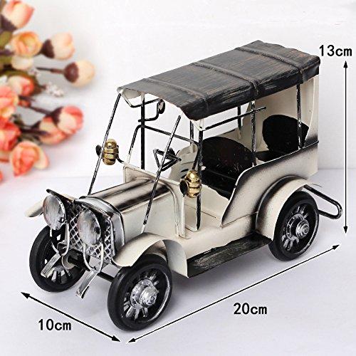 LER El hierro forjado de Europa y América retro vintage coche decoración...