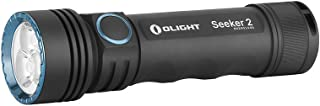 Olight Seeker2 Max 3000 lumens high Efficiency and high Performance Side Switch Rechargeable Flashlight LED Light with USB...