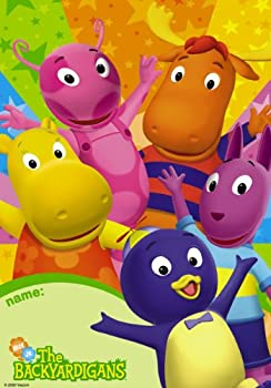 Backyardigans Party Loot Bags 8 Pack